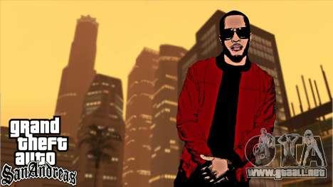 Loadscreens American Rap para GTA San Andreas tercera pantalla