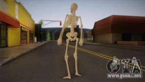 Esqueleto para GTA San Andreas segunda pantalla