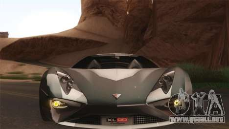 SuperMotoXL CONXERTO v2.0 para GTA San Andreas vista hacia atrás