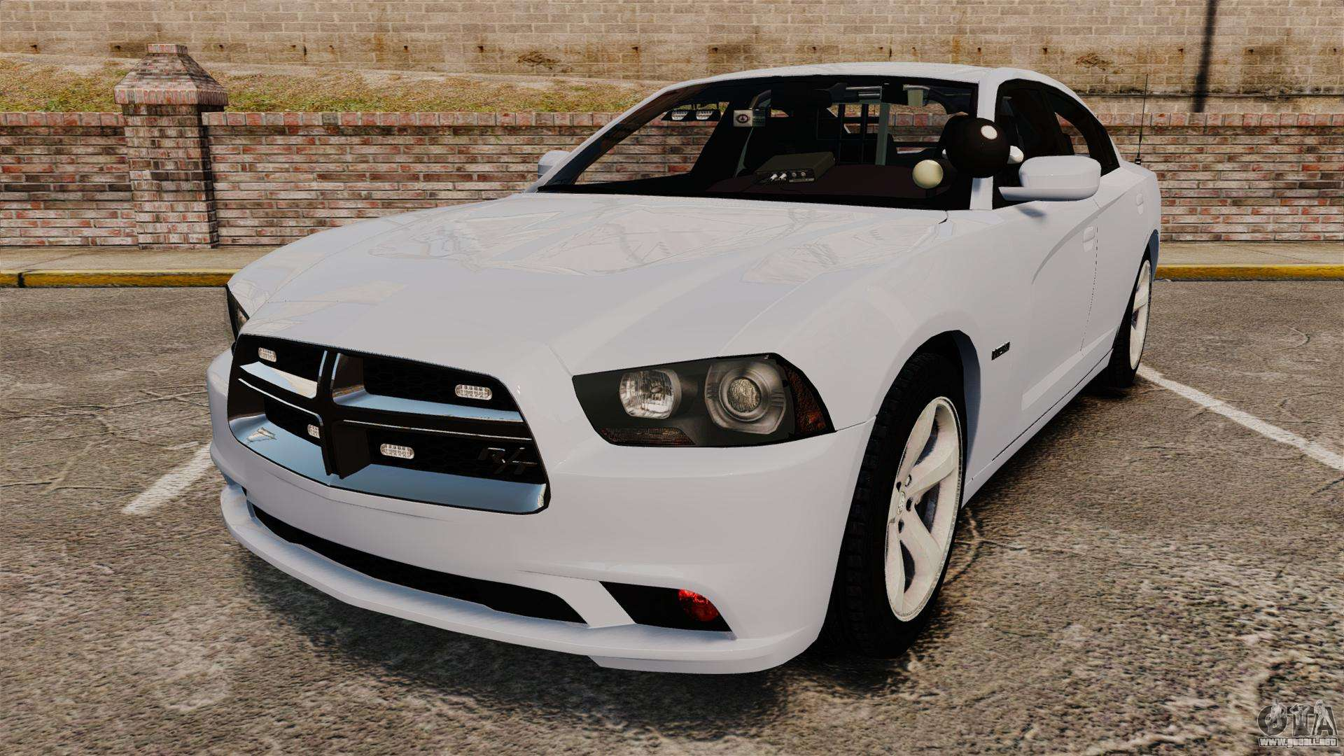 Dodge Charger Rt 2012 Unmarked Police Els Para Gta 4