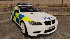 BMW M3 British Police [ELS] para GTA 4