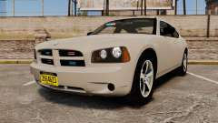 Dodge Charger Unmarked Police [ELS] para GTA 4