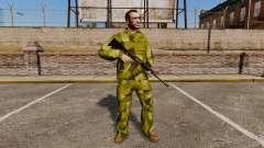 El uniforme de camuflaje sueco para GTA 4