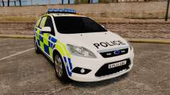 Ford Focus Estate 2009 Police England [ELS]