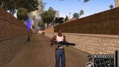 C-HUD by 6a6yuH para GTA San Andreas