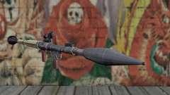 Lanzador de misiles de un acosador para GTA San Andreas
