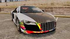 Audi R8 GT Coupe 2011 Drift para GTA 4