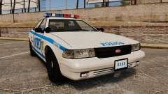 GTA V Vapid Police Cruiser NYPD para GTA 4