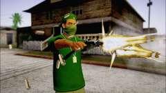 Lamar Davis GTA V para GTA San Andreas