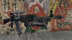 AK-47 de un acosador