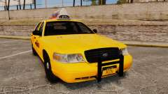 Ford Crown Victoria 1999 NYC Taxi v1.1 para GTA 4