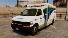 Brute Alberta Health Services Ambulance [ELS] para GTA 4