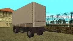 Trailer de Kamaz 5410 para GTA San Andreas