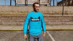 Suéter-Banco - para GTA 4