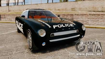 Ford Forty Nine Concept 2001 Police [ELS] para GTA 4