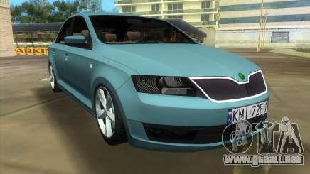 Skoda Rapid 2013 para GTA Vice City