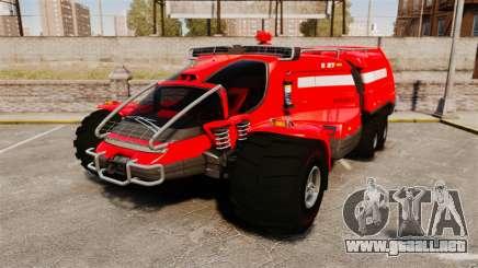 Pro Track SR2 Firetruck [ELS] para GTA 4
