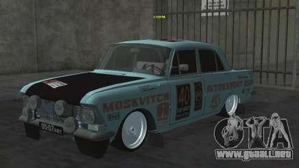 Moskvich 412 Rally para GTA San Andreas