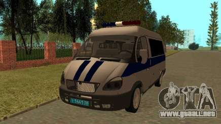 Policía Sable del GAS para GTA San Andreas