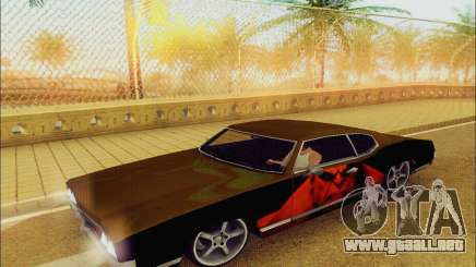 Modified Sabre Low para GTA San Andreas