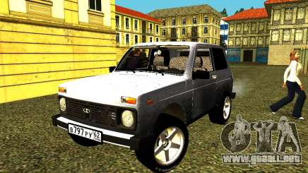 VAZ 21214 para GTA San Andreas