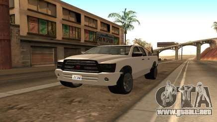 Bisonte de GTA 5 para GTA San Andreas