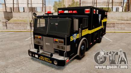 Hazmat Truck NLSP Emergency Operations [ELS] para GTA 4