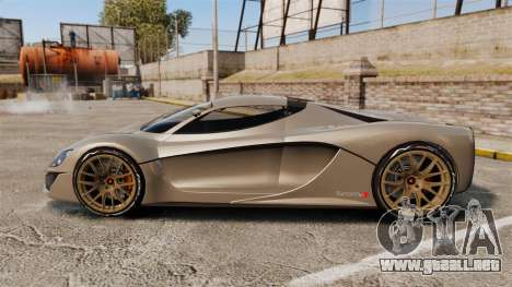 GTA V Grotti Turismo R v2.0 [EPM] para GTA 4 left