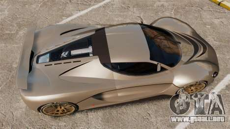 GTA V Grotti Turismo R v2.0 [EPM] para GTA 4 visión correcta