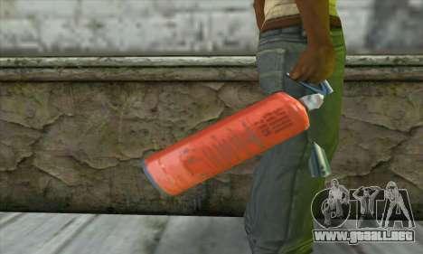 Extintor para GTA San Andreas tercera pantalla