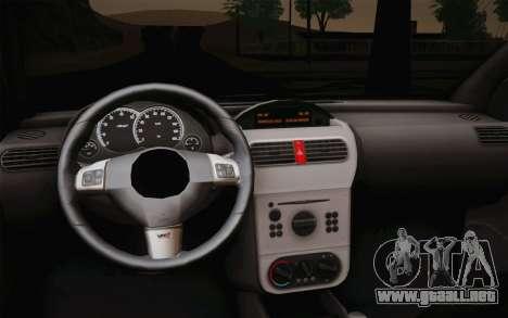 Chevrolet Corsa VHC para la visión correcta GTA San Andreas
