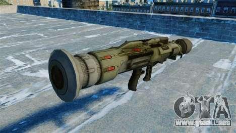 Granada antitanque lanzador quijada v2.0 para GTA 4 segundos de pantalla