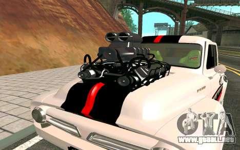 Ford FR-100 para la visión correcta GTA San Andreas