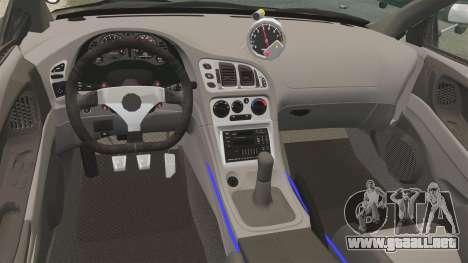 Mitsubishi Ecplise GS 1995 para GTA 4 vista interior