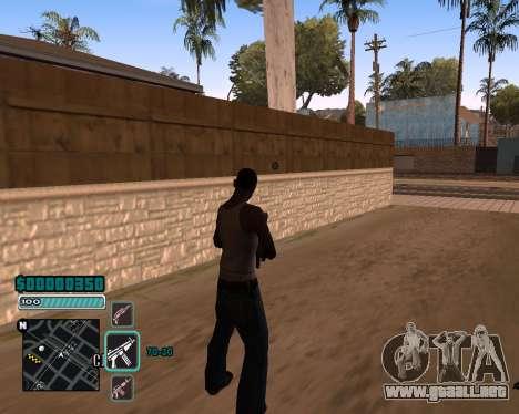 C-HUD v1 para GTA San Andreas segunda pantalla