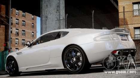 Aston Martin DBS v1.0 para GTA 4 visión correcta