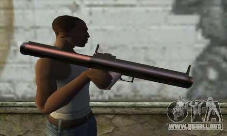 M72 para GTA San Andreas tercera pantalla