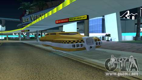 Taxi 5 Element para GTA San Andreas left