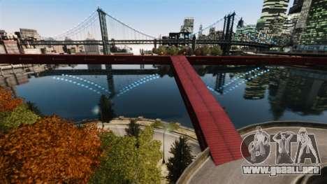 Nuevo puente en el Este de la isla de la ciudad para GTA 4 segundos de pantalla