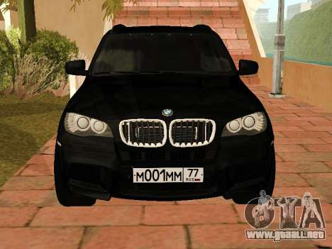 BMW X5 E70 2009 para GTA San Andreas left