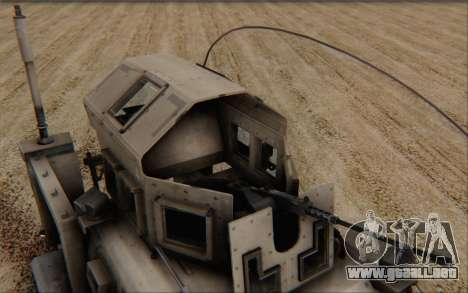 Oshkosh M-ATV para la visión correcta GTA San Andreas