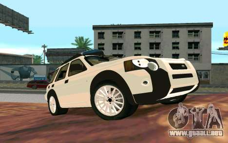 Land Rover Freelander para GTA San Andreas