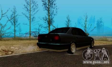BMW M5 E34 1992 para GTA San Andreas left
