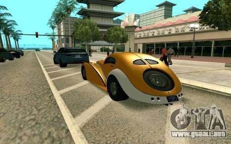GTA V Z-type para GTA San Andreas left