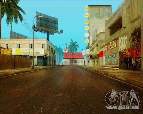 ENB HD CUDA v.2.5 for SAMP para GTA San Andreas sexta pantalla