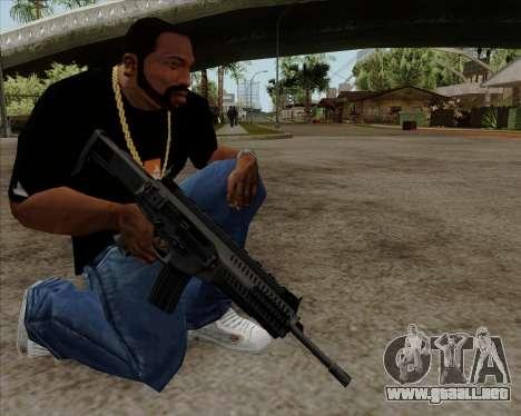 Beretta ARX-160 para GTA San Andreas tercera pantalla