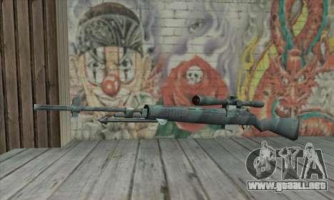 M21 de COD 4 Modern Warfare para GTA San Andreas
