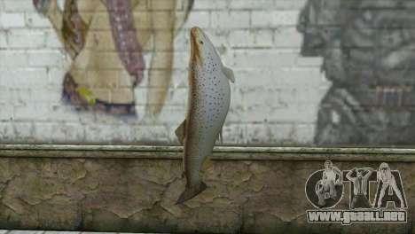 Pescado para GTA San Andreas segunda pantalla