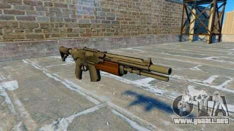 Escopeta semiautomática chacal para GTA 4