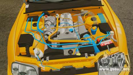 Toyota Supra RZ 1998 (Mark IV) Bomex kit para GTA 4 vista hacia atrás